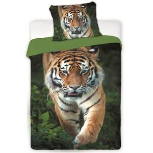 Bavlněné povlečení Tygr 2016, 140 x 200 cm, 70 x 90 cm