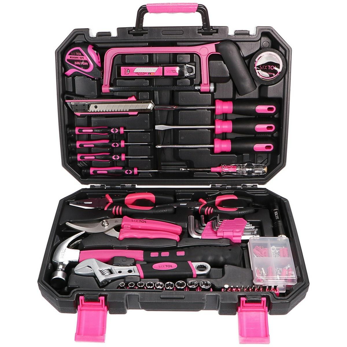 Sixtol Sada náradia Home Pink, 128 ks
