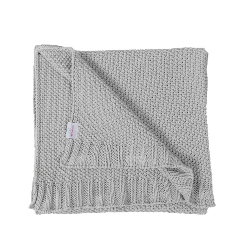 Dětská deka Tully šedá, 80 x 100 cm