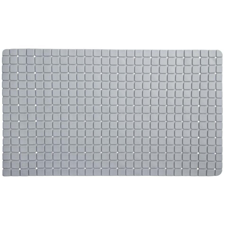 Koopman Protiskluzová podložka do koupelny šedá, 69 x 39 cm