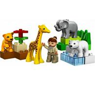 Lego Duplo Baby zoo, vícebarevná