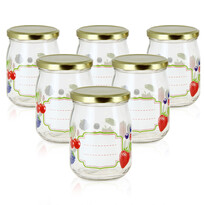 Mäser Sada zavařovacích sklenic Ovoce 500 ml, 6 ks