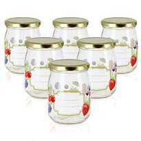 Set borcane de conservare Mäser Fructe 500 ml,6 buc.