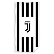 Osuška Juventus Black Stripes, 70 x 140 cm