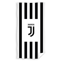 Prosop Juventus Black Stripes, 70 x 140 cm