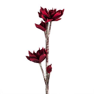 Umělá květina dekorativní červená
