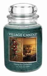Village Candle Vonná svíčka ve skle, Kouzlo Vánoc - Home for Christmas, 645 g, 645 g