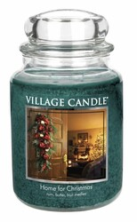 Village Candle Vonná svíčka Kouzlo Vánoc - Home for Christmas, 645 g