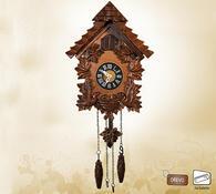 Nástěnné hodiny kukačky 28 x 11 x 21 cm