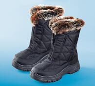Dámské zimní boty s beránkem, 40