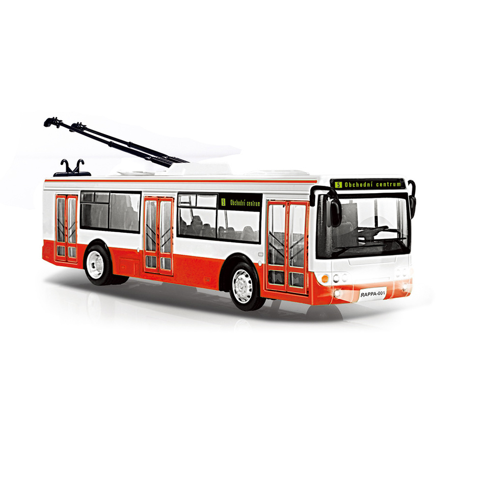 Rappa Trolejbus so zvukom a svetlom, 28 cm