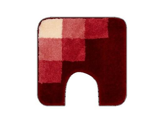 WC předložka Grund UDINE červená, 50 x 50 cm