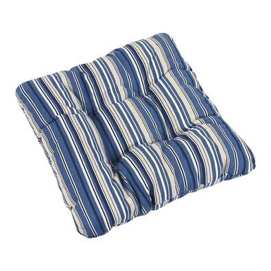 Sedák Ivo proužek modrý, 40 x 40 cm, sada 2 ks