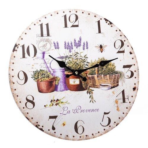 Ceas de perete La Provence, 34 cm