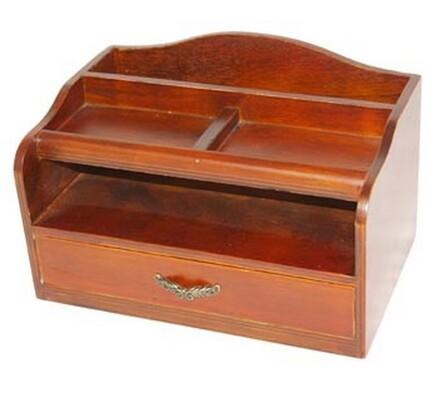 Krabička do kancelárie, stredná, hnedá