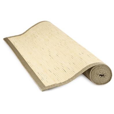 Rohož za postel bambusová přírodní