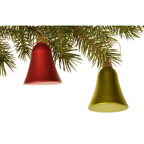 Sada vianočných ozdôb Zvončeky 6 ks, 6 cm