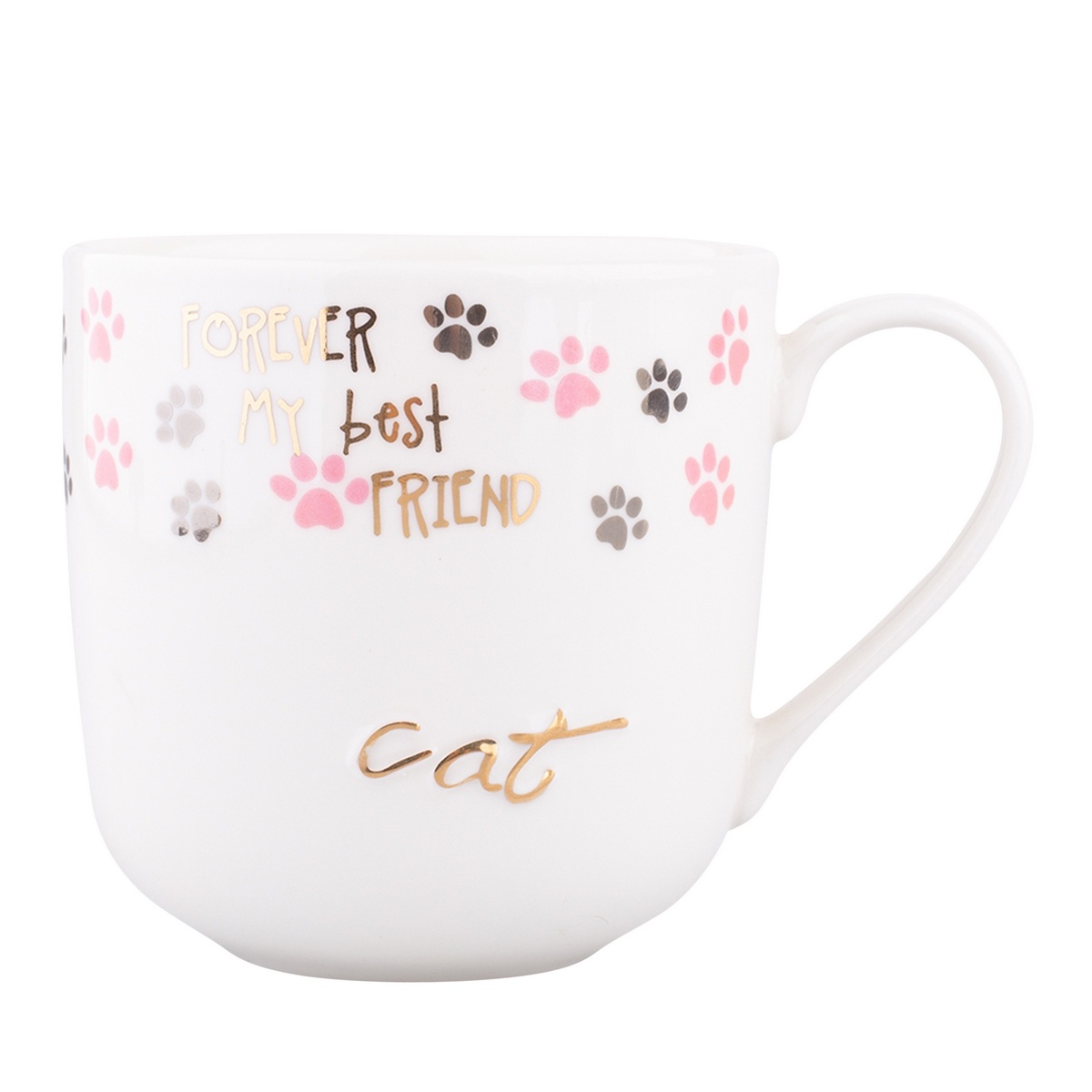 Altom Porcelánový hrnek Cat, 400 ml