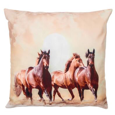 Povlak na polštářek Koně, 40 x 40 cm