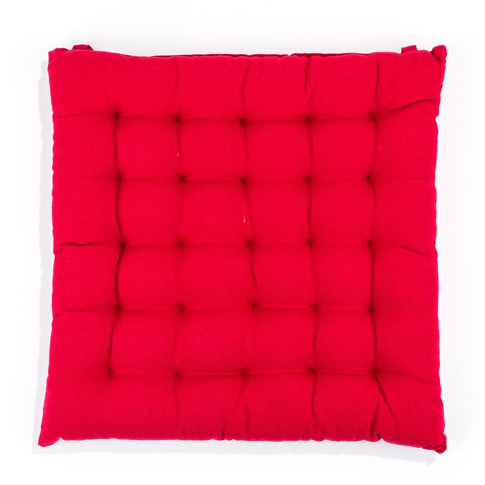 BO-MA Trading Sedák Adele nižšiu červená, 39 x 39 cm