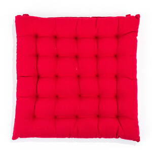 BO-MA Trading Sedák Adele nižší červená, 39 x 39 cm