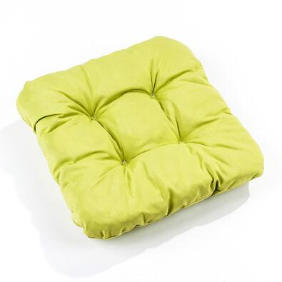 Podsedáky na židle Mariana, sv. zelená, 35 x 35 cm, sada 2 ks
