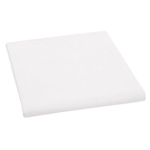 Plátené prestieradlo, biela, 150 x 230 cm