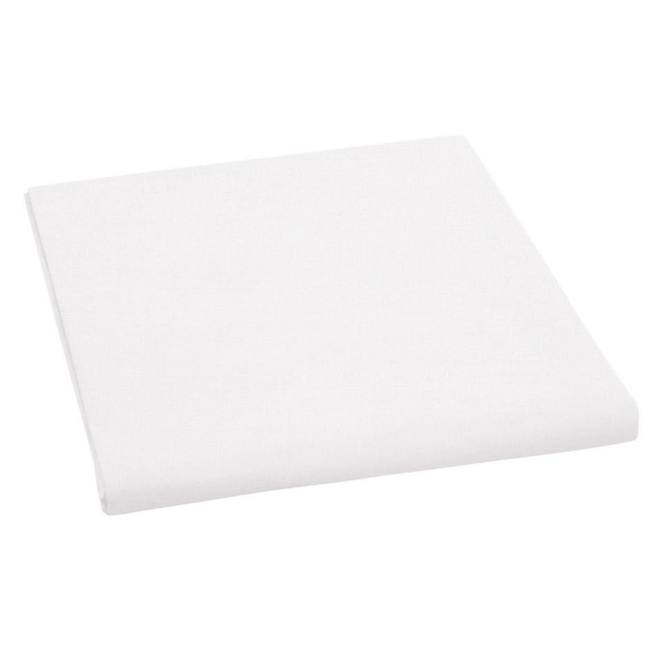 Bellatex plátěné prostěradlo, bílá, 150 x 230 cm