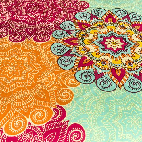 4Home 2 készlet Oriental flower ágyneműhuzat, 140 x 200 cm, 70 x 90 cm