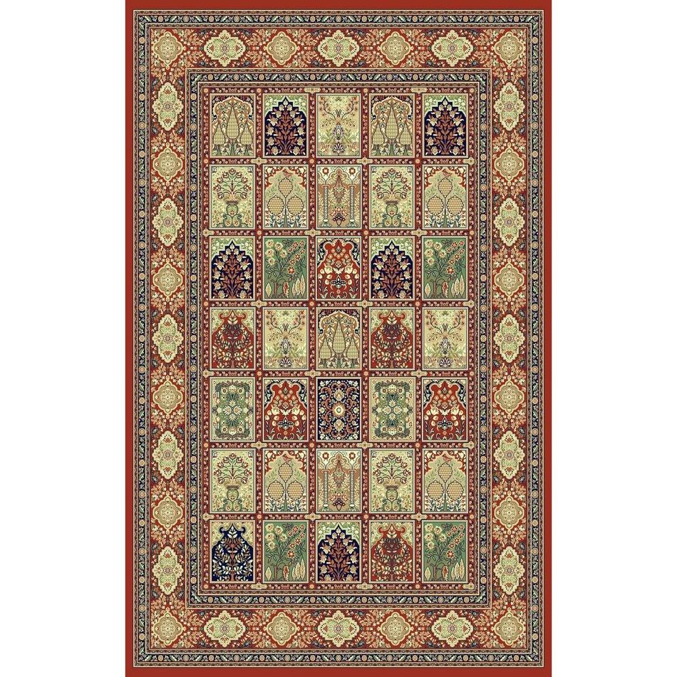 Habitat Kusový koberec Brilliant square červená, 160 x 230 cm