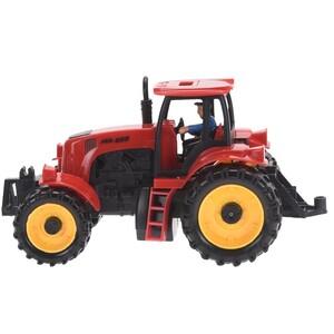 Traktor červená, 20 cm