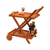 Servírovací vozík Pirat, 66 x 48 x 78 cm