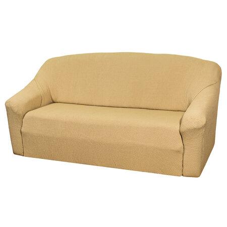 4Home Multielastický poťah na sedaciu súpravu béžová Elegant, 180 - 220 cm