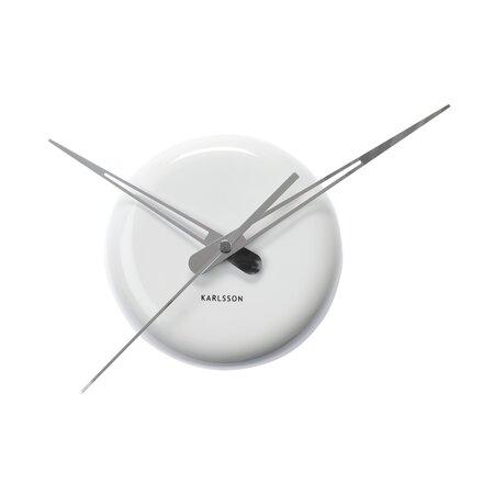 Karlsson 5452WH nástenné hodiny