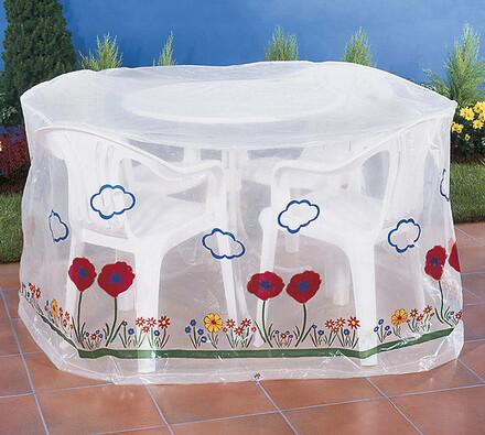 ochranná fólia na záhradný nábytok