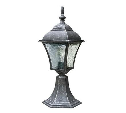 Venkovní stojací lampa Rabalux Toscana antická stříbrná, 14,5 x 41,5 x 20,5 cm