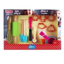 Set patiserie Toro pentru copii, 20 buc.