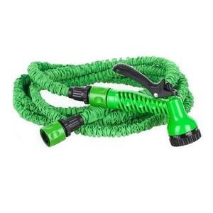 Zahradní natahovací hadice s rozprašovací pistolí 15m