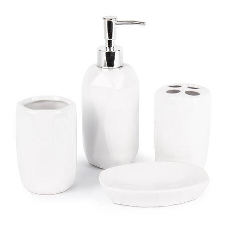 Kúpeľňová sada Dolomite, biela