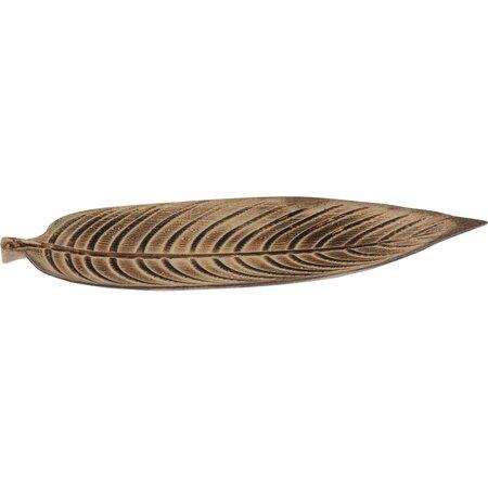 Koopman Dekoračná tácka Palm leaf, 46 cm