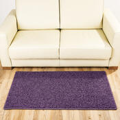 Kusový koberec Elite Shaggy fialová, 60 x 110 cm