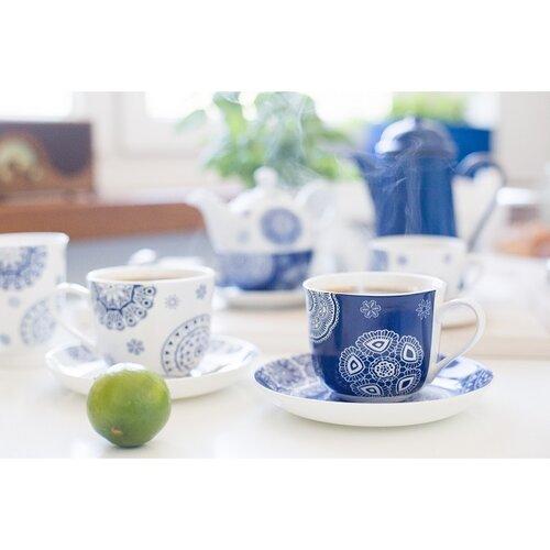 Hrnček Blue Laces 330 ml, modrá
