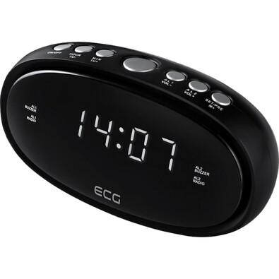 ECG RB 010 Digitális radiós ébresztőóra, fekete