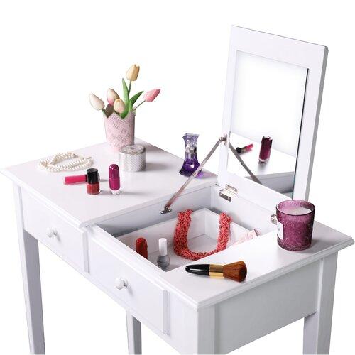 Toaletný stolík Luzia, biela