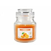 Lumânare aromată borcan Portocale, 120 gportocaliu,