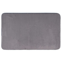 Dywanik łazienkowy Carol ciemnoszary, 50 x 80 cm