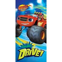 Ręcznik kąpielowy Blaze Monster Truck Drive, 70 x 140 cm