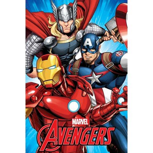 Pătură Jerry Fabrics Avengers, 100 x 150 cm