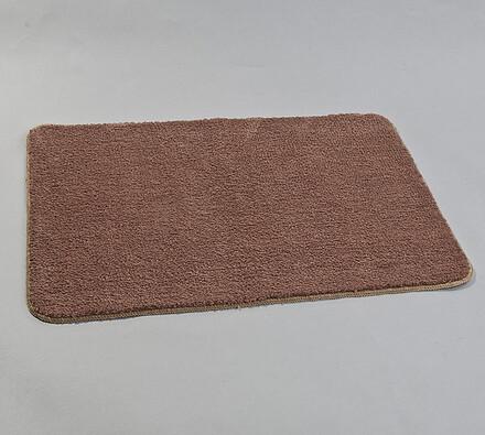 Koberček, 60 x 90 cm, tmavo hnedá