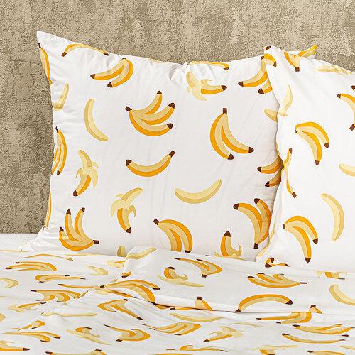 4Home Banán  micro ágyneműhuzat, 220 x 200 cm, 70 x 90 cm